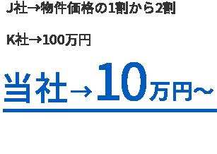 10万円のみ